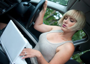 Miami Car Accident Lawyer - How to Prove a Driver was Distracted